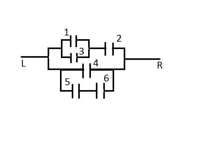 what is the probability that current flows from l to r for the circuit shown below