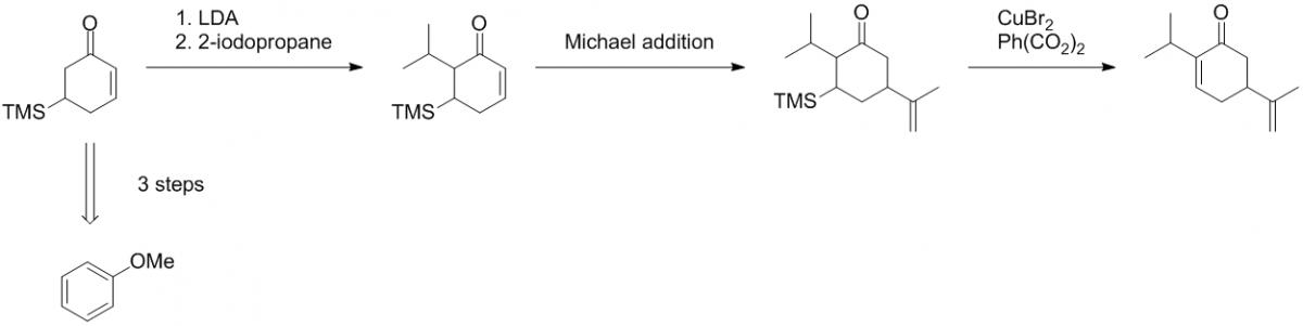Organic chemistry retrosynthesis help