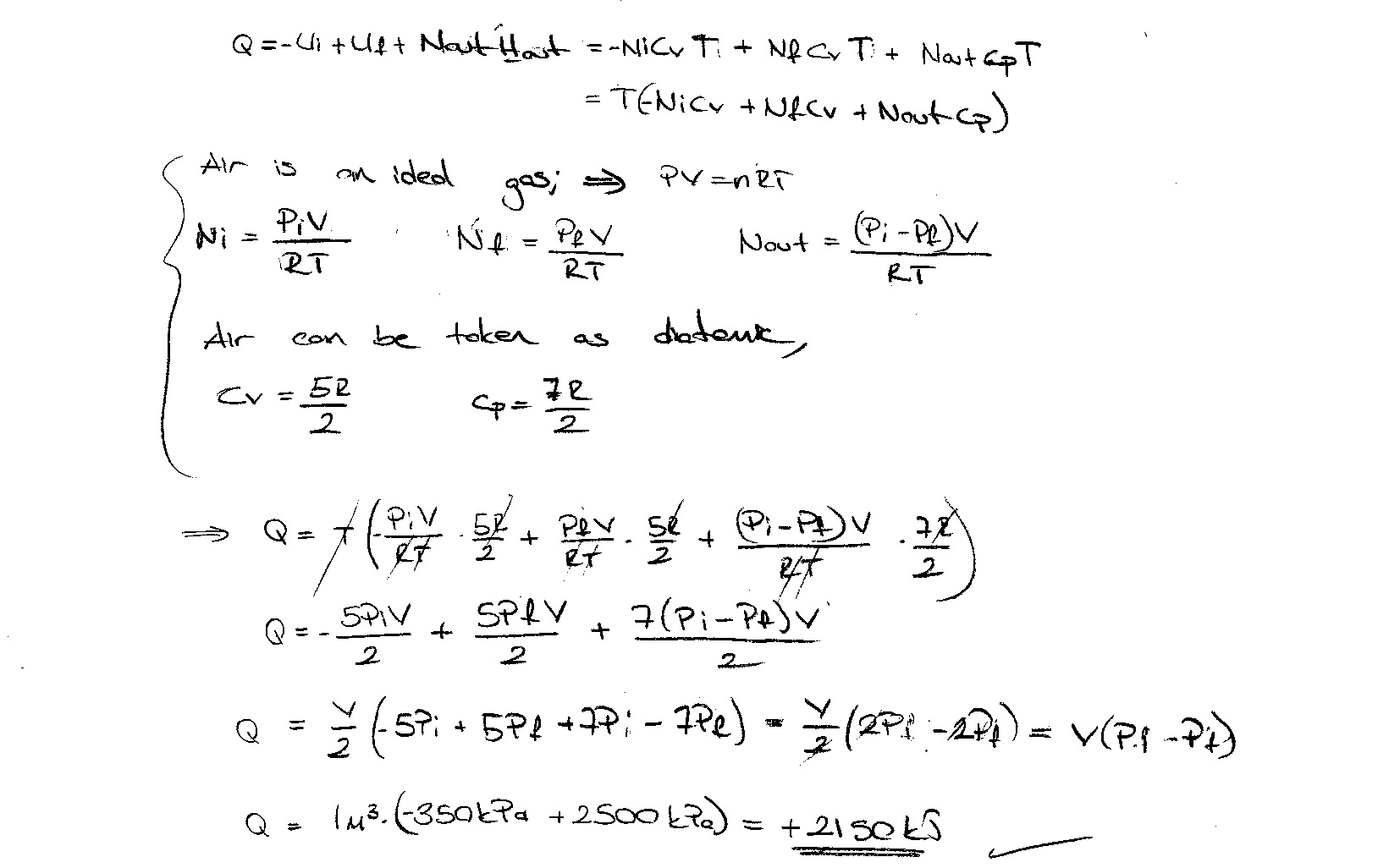 how to calculate entropy change thermodynamics