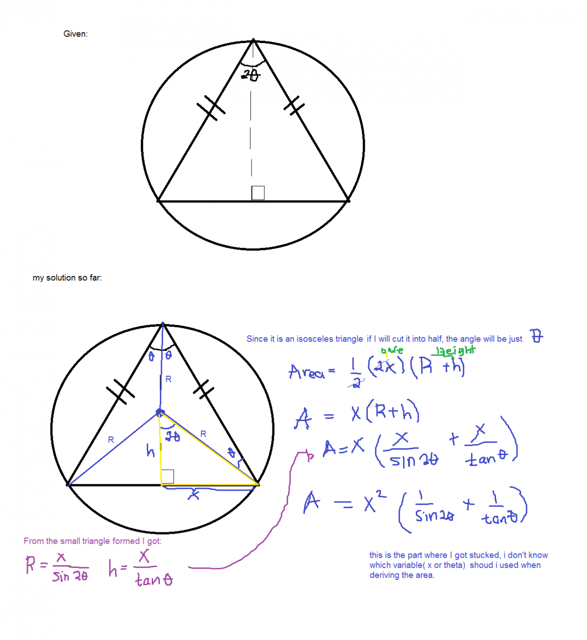 Optimization Problem - - Analysis and Calculus - Science Forums